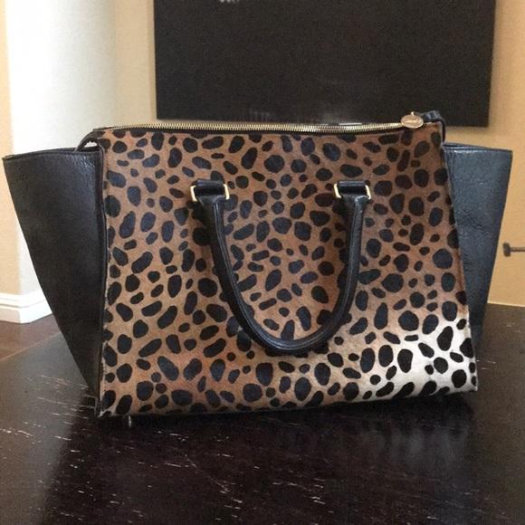 f86d33ef1e68 Clare Vivier Bags   Clare V Leopard Sandrine Bag   Poshmark